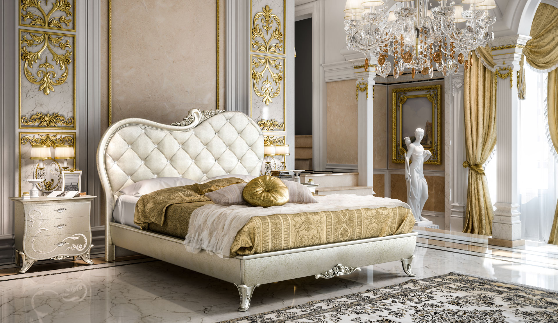 Camera Da Letto Classica : Camere da letto classiche www.studiomontorzi.com